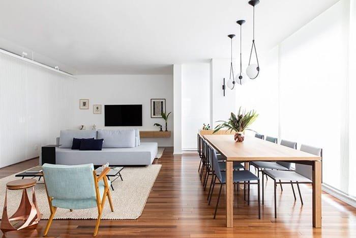 entegre minimalist ortamlar