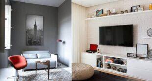 texturas nos detalhes de ambientes minimalistas