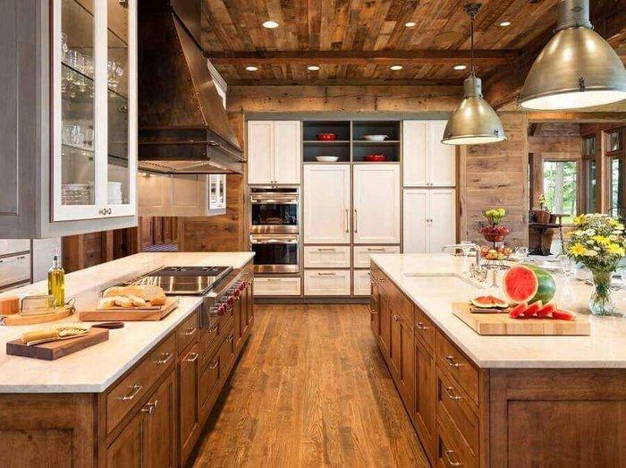 Mutfağınız için rustik dekorun sırları