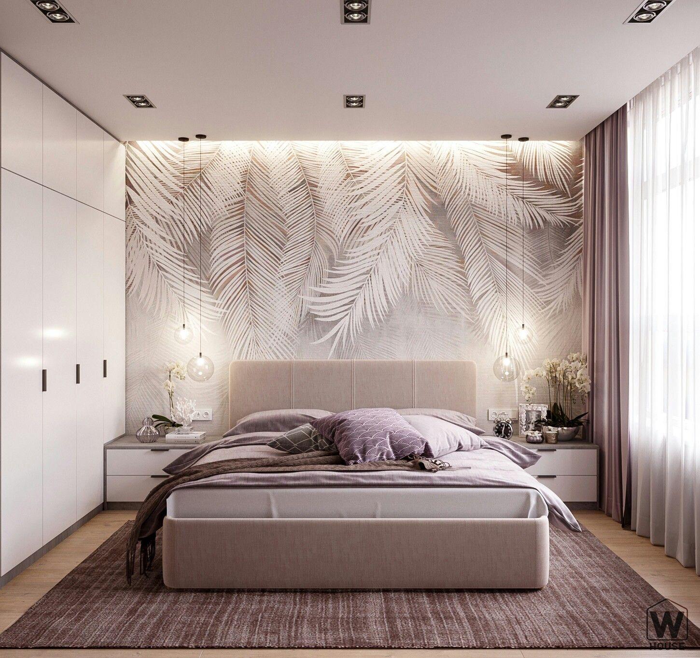 Bir yatak odası için bir fotoğraf duvar kağıdının gereksinimleri nelerdir?