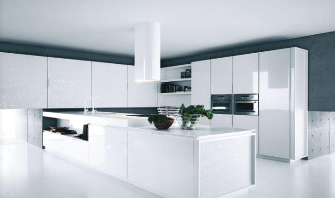 Beyaz 10 mutfak