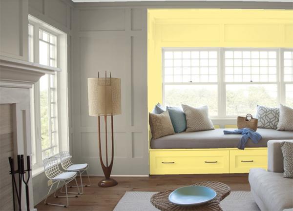 Duvar ve dekorasyonda vizon rengiyle birlesen 10 renk