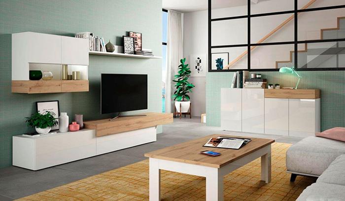 Modern ve ucuz oturma odası mobilyaları