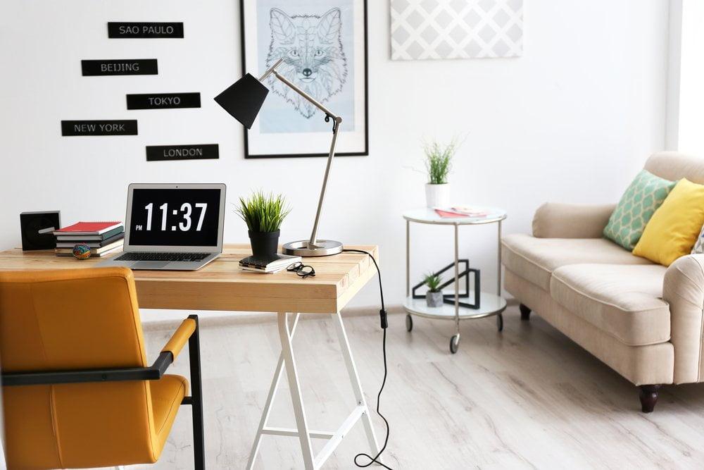 Ev ofisinizi dekore etmek için 4 fikir
