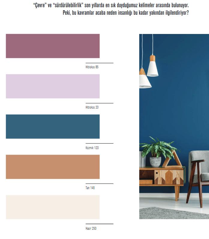 Filli boya trend renkler