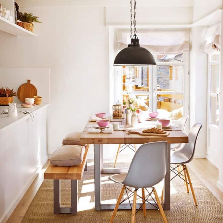 İskandinav yemek odası
