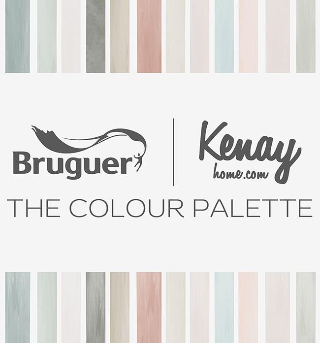 Renk Paleti, Kenay Home ve Bruguer'den boya ve renk tablosu