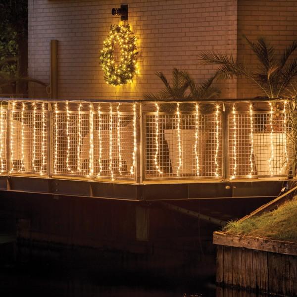 LED aydinlatma ile cepheler ve balkonlar nasil dekore edilir