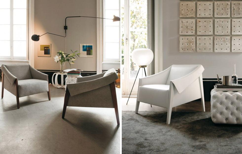 Modern bir oturma odası için 22 koltuk