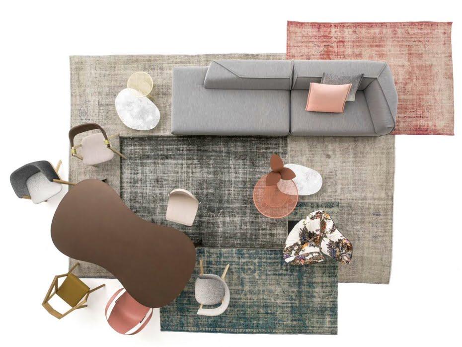 Moroso: Modern bir oturma odası için 15 kombinasyon