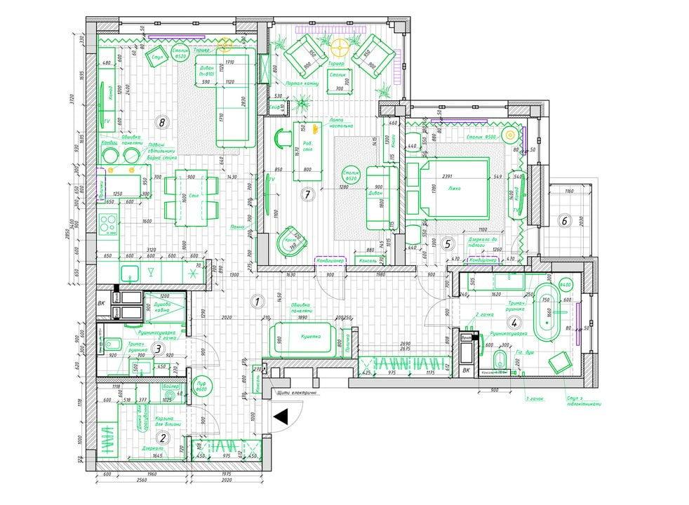 Proje bir metropol apartman dairesinde olmanin kolayligi