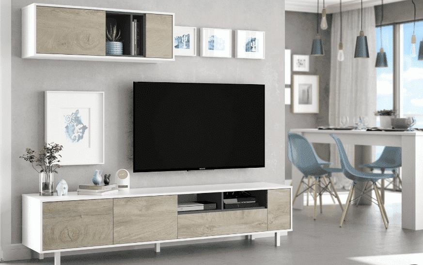 Uzun ve dar bir oturma odasini dekore etmek icin 10