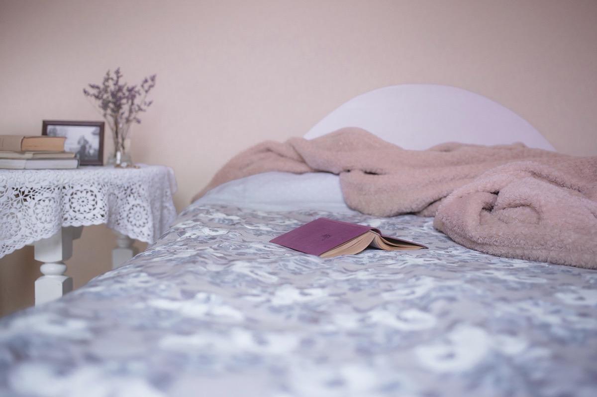 yatak odasında aksan