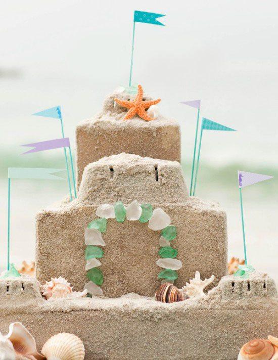 çocukların doğum günü kumu süslemek