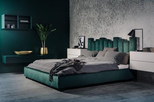 Yumuşak başlıklı yataklar için en iyi tasarım çözümleri (100 fotoğraf)