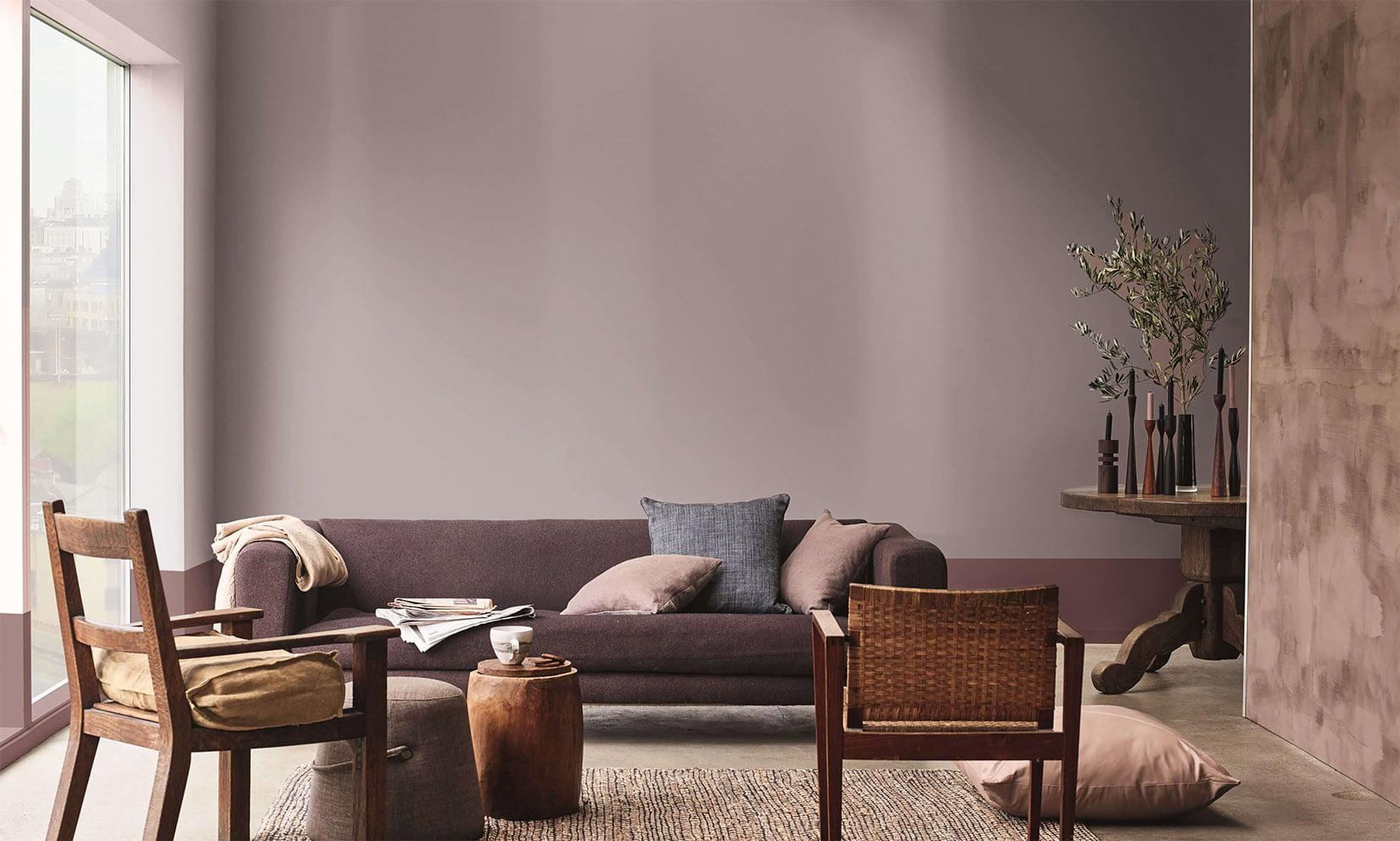Duvar ve dekorasyonda vizon rengiyle birleşen 10 renk