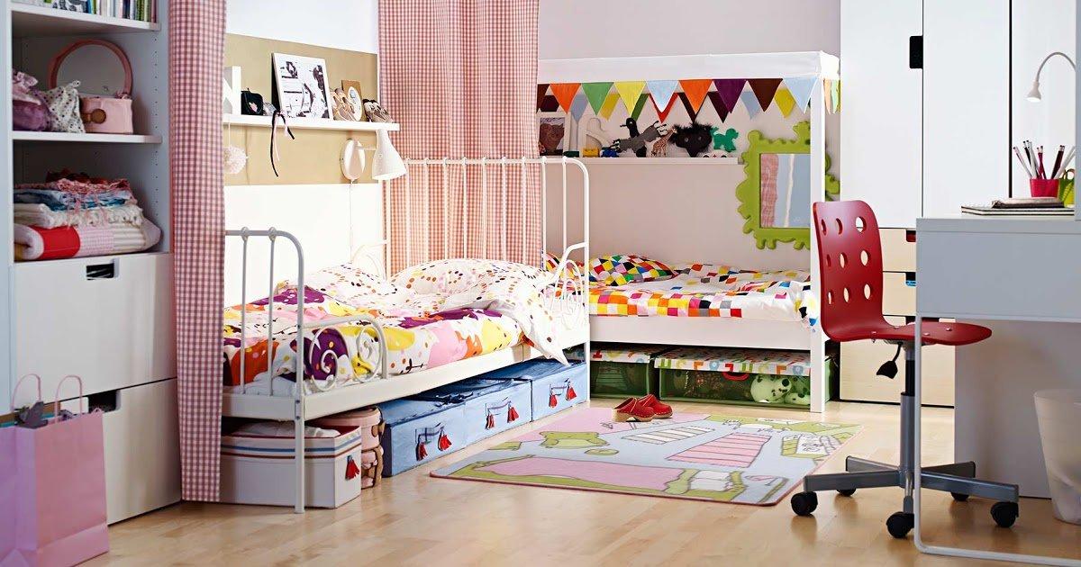 Paylaşılan çocuk yatak odaları nasıl dekore edilir
