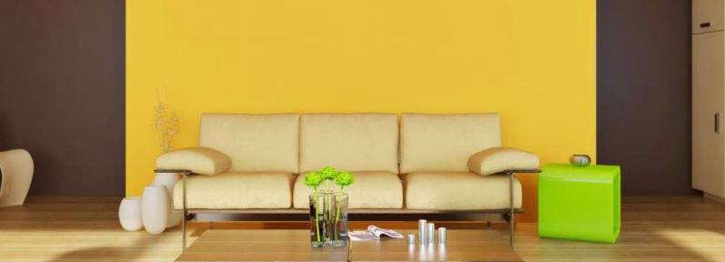 sarı renk duvar