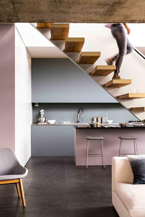 boya mutfak renk fikirleri modern mutfak tasarımı pastel renkler güzel mutfaklar