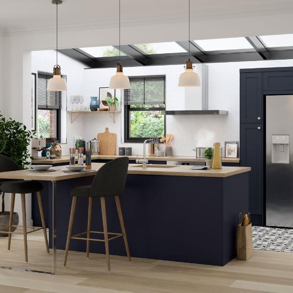 yüksek kontrastlı mutfak tasarımı - harika fikirler