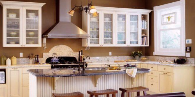 ▷ Beyaz mutfak hangi duvar rengi?  Modern mutfak için renk fikirleri