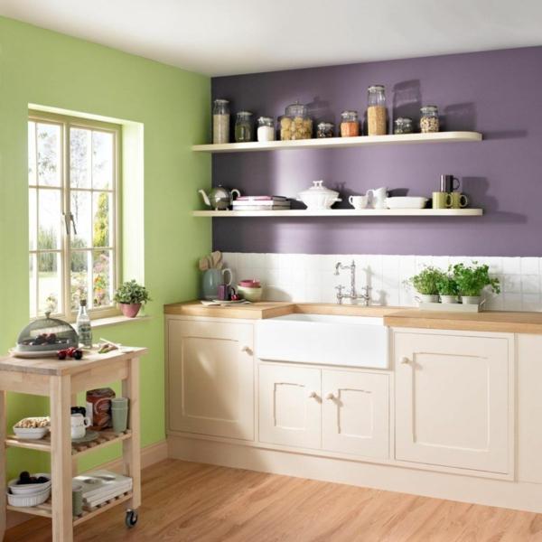 mutfak boyama renk fikirleri renkli duvarlar güzel mutfaklar