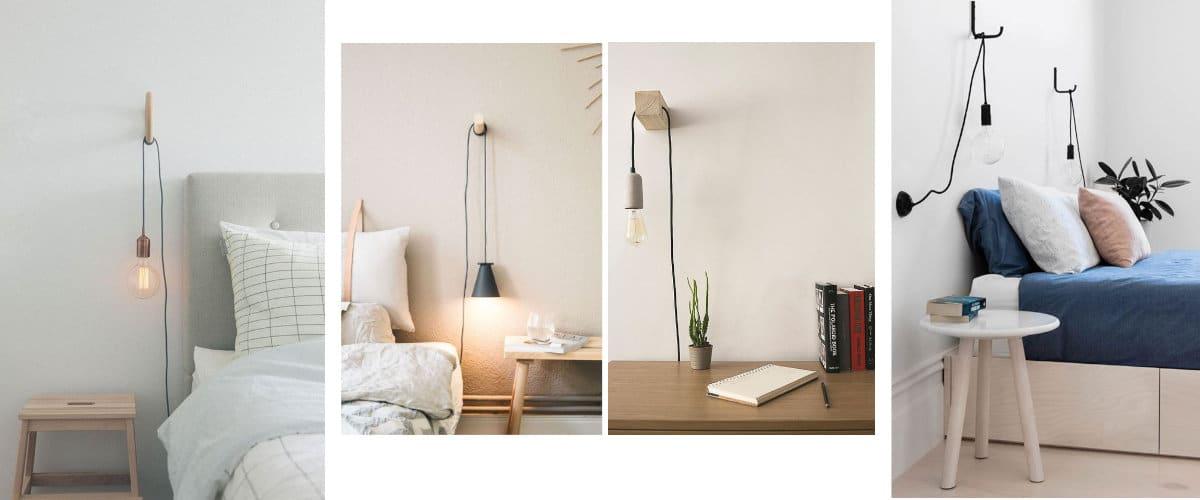 Yüksekliğini ayarlayabileceğiniz minimalist lambalar