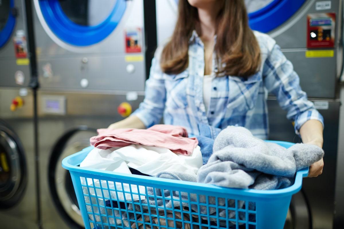 Tasarruf edilecek çamaşırlar.