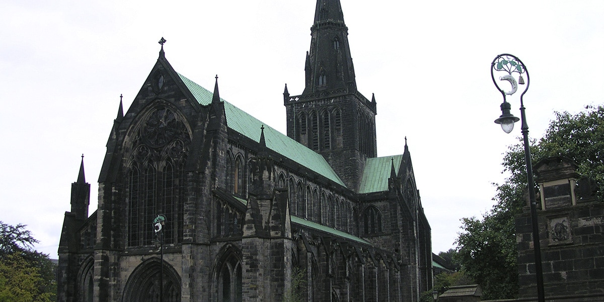 Glasgow'daki St Mungo Katedrali