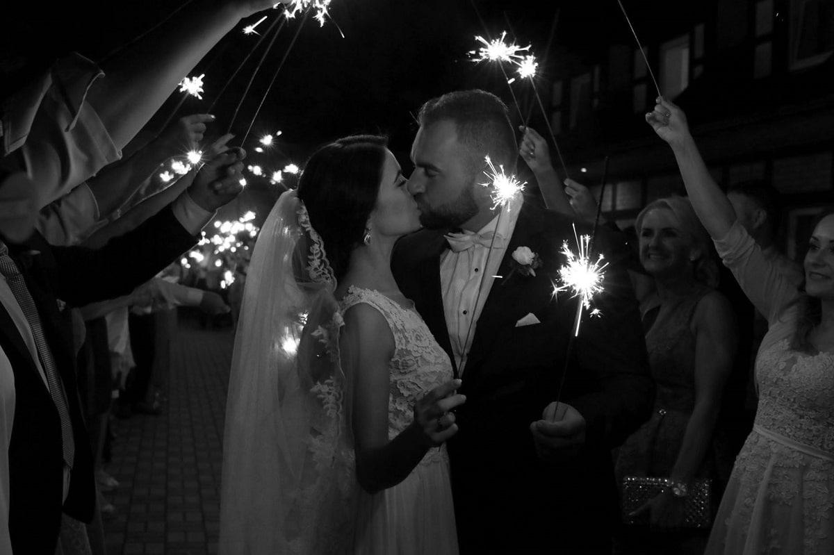 düğün için havai fişekleri