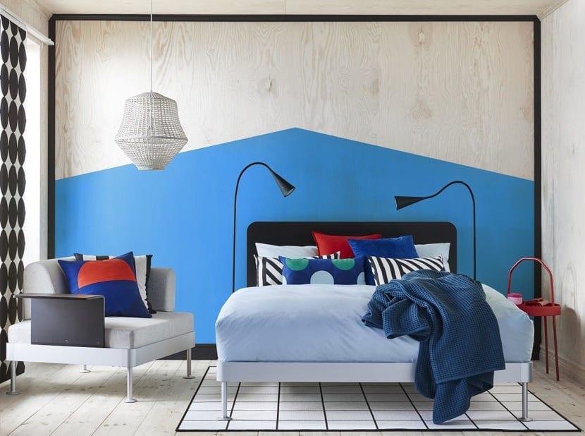 modern tom dixon yatak odası