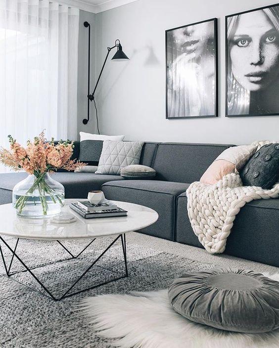 oturma odası kanepe düzenlemesi
