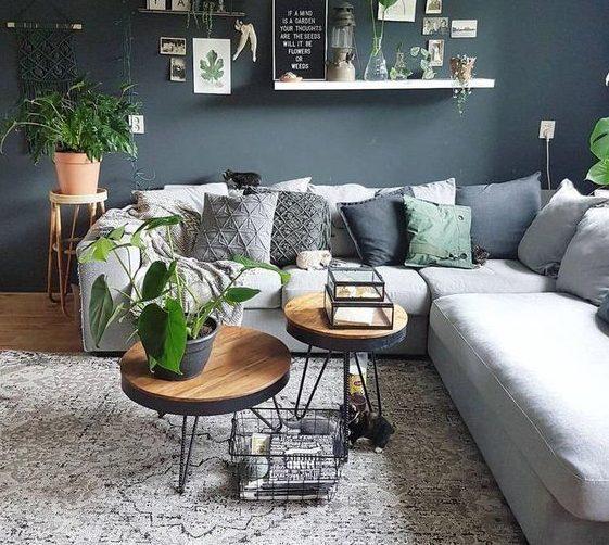 bir oturma odasını rahat hale getirmenin püf noktaları