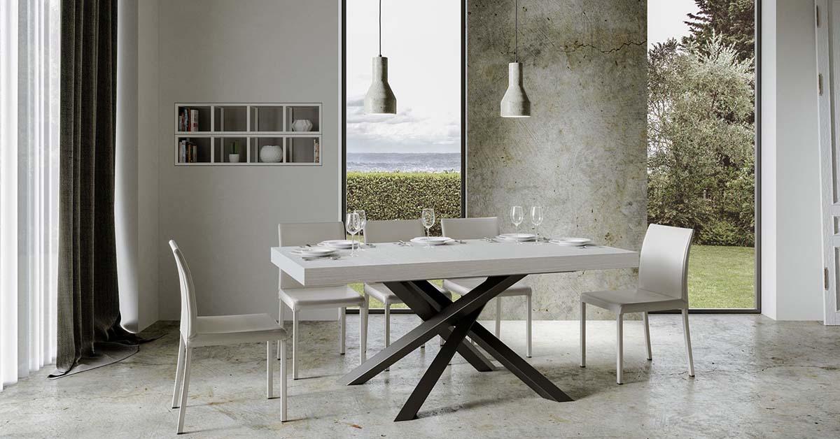 Tasarım Stays için çapraz ayaklı masalar