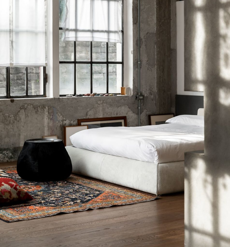 endüstriyel yatak odası