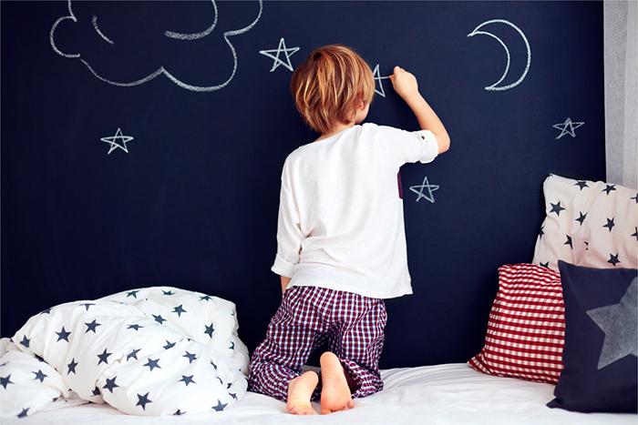 yazı tahtası duvarını dekore et