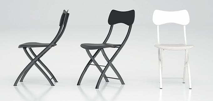 Bahçe veya ev için katlanır sandalyeler: satın almadan önce faydalı ipuçları