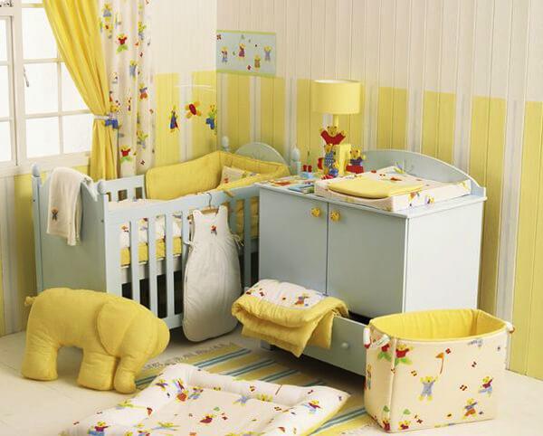 Bebek yatak odası döşemek