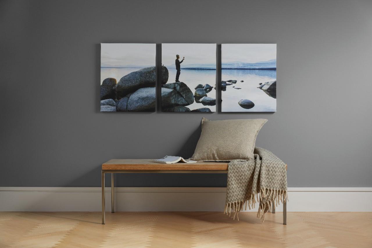 panoramik kanvas baskılar