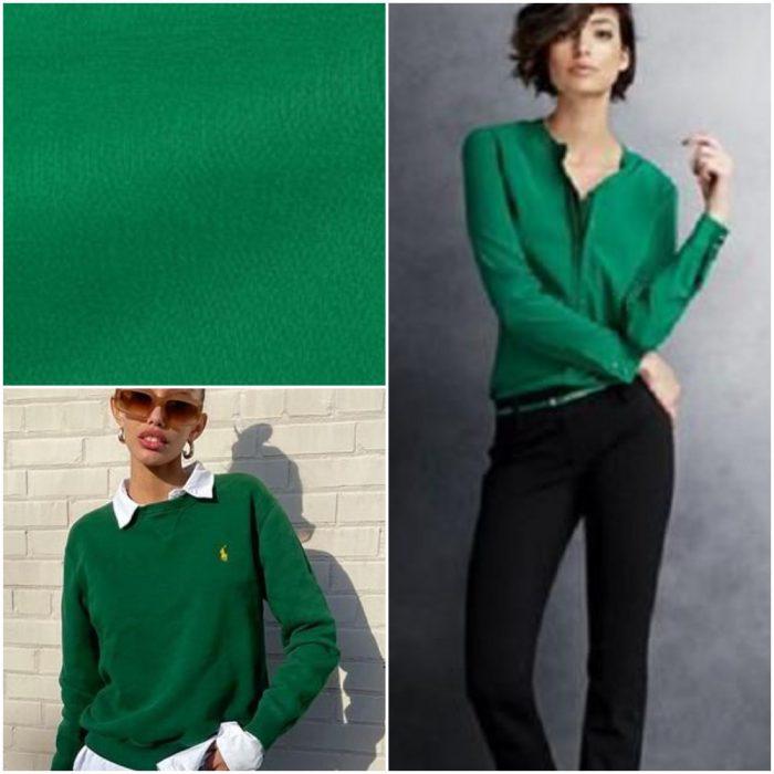 Yeşil cin Trendy renkler kış 2022