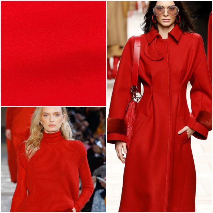 kırmızı uyarı Trendy renkler kış 2022