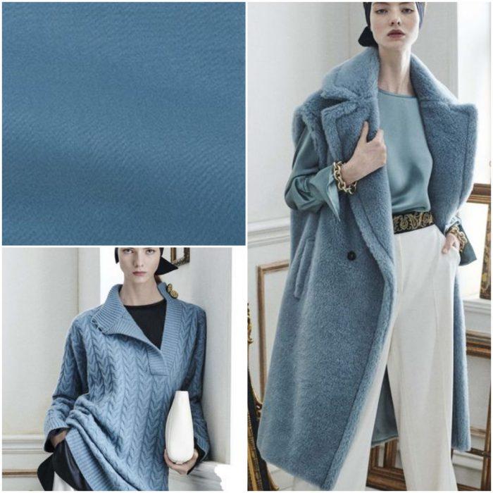 gri mavi Trendy renkler kış 2022