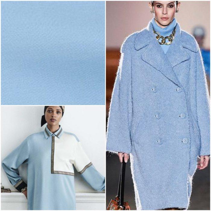 açık mavi Trendy renkler kış 2022
