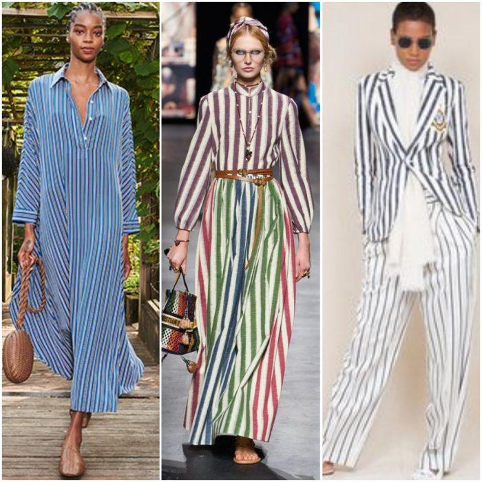 dikey çizgili moda baskılar yaz 2022
