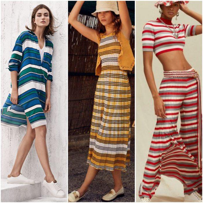 yatay çizgili moda baskılar 2022 yaz