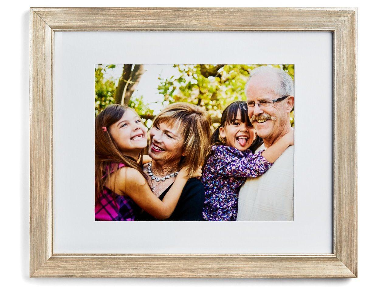 ailenin özel ahşap resim çerçevesi