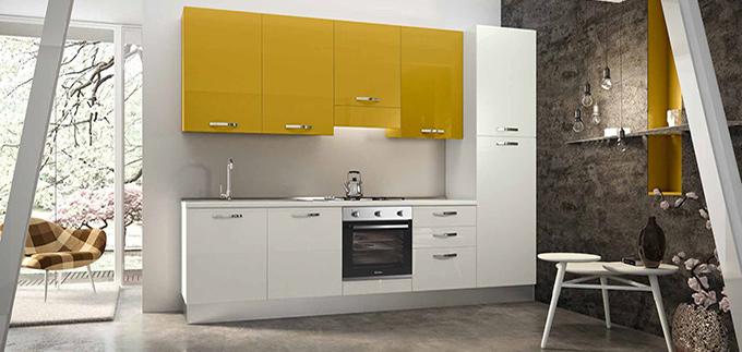 üç metrelik tasarım mutfaklar