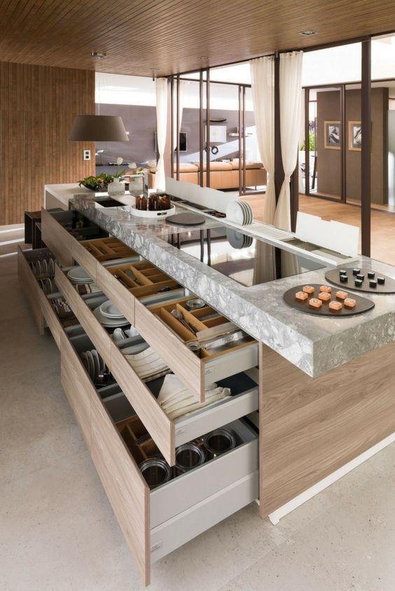 Adalı modern mutfaklar