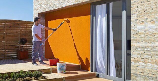 Dış duvarlar için en iyi boya