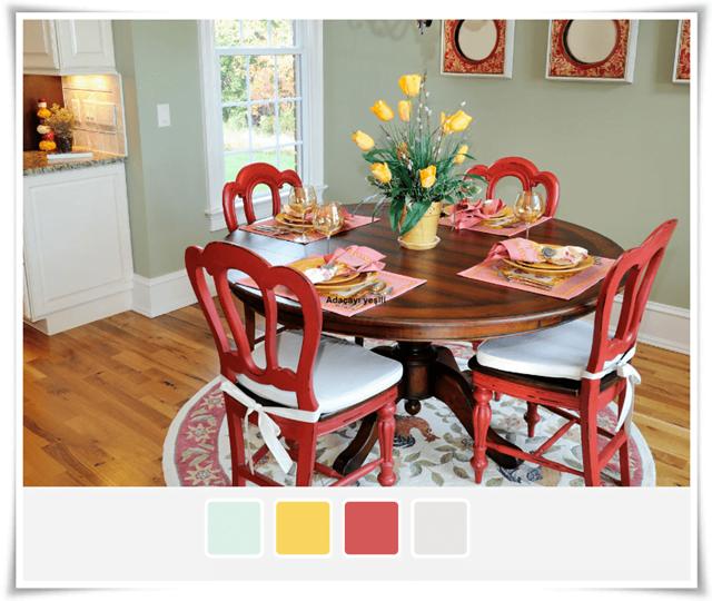 Yemek Odası Renkleri